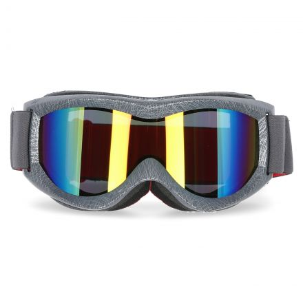 Fixate Adults' Ski Goggles in Grey, Front view