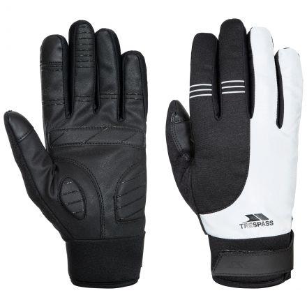 Trespass Adults Touchscreen Gloves in Light Grey Franko