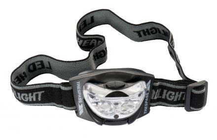 3 LED Head Torch in Black