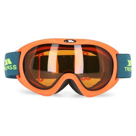 Hijinx Kids' Ski Goggles in Yellow, Front view