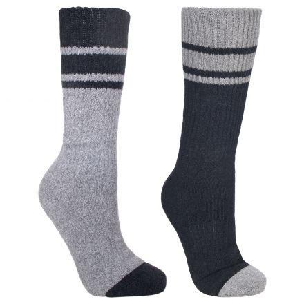 Hitched Men's Walking Socks - 2 pack in Black