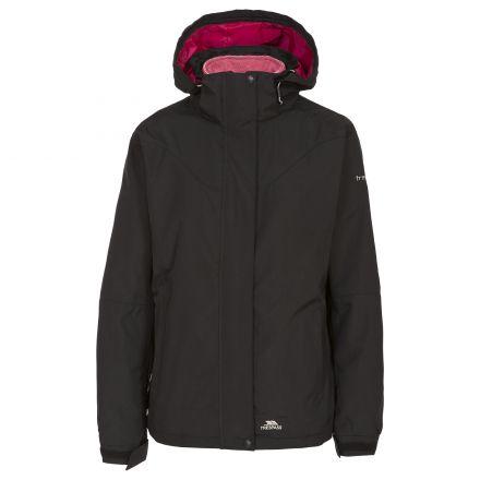Trespass Womens 3 in 1 Jacket Hooded Madalin in Black