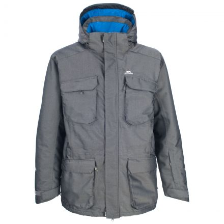 Stem Men's Grey Snow Jacket in Grey
