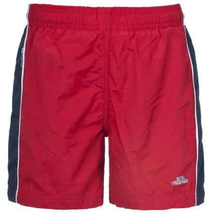 Brandon Kids' Swim Shorts in Red