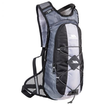 Mirror 15 Blue Cycling Hydration Pack in Light Grey, Front view
