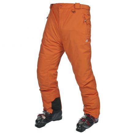 Mulford Men's Ski Pants - Orange in Orange
