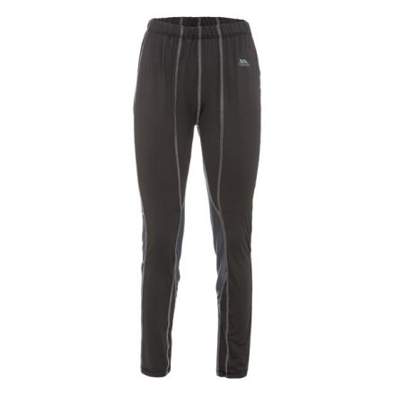Redeem Women's Thermal Trousers in Black, Front view on mannequin