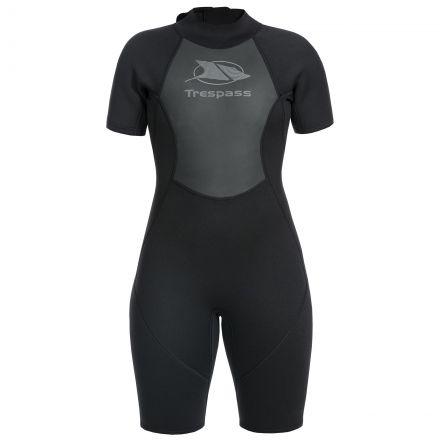 Scubadive Women's 3mm Short Wetsuit in Black