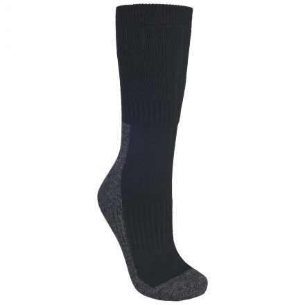 Shak Men's Walking Socks in Black