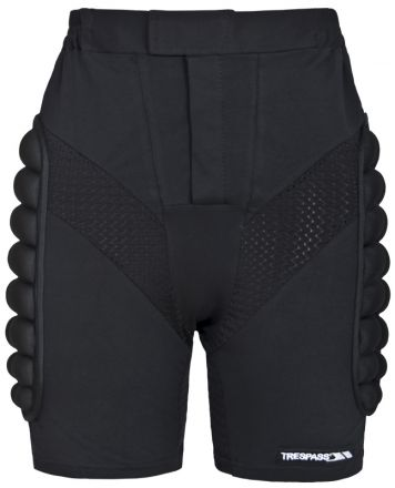 Impact Adults' Padded Active Shorts in Black