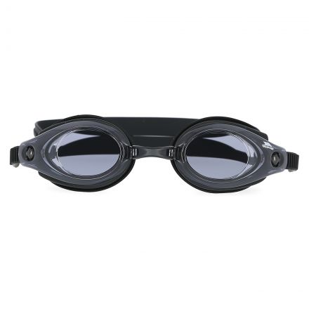 Soaker Kids' Swimming Goggles in Black, Front view