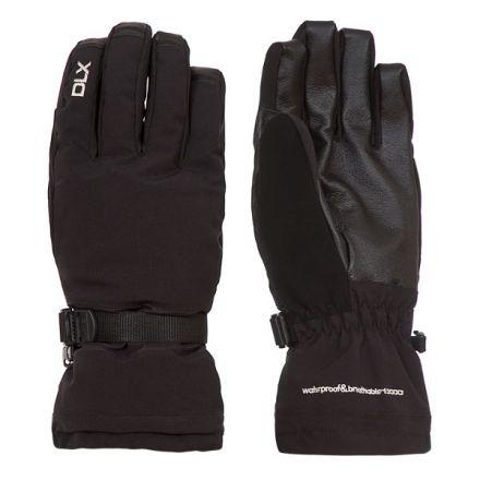 Trespass DLX Adults Ski Gloves in Black Spectre