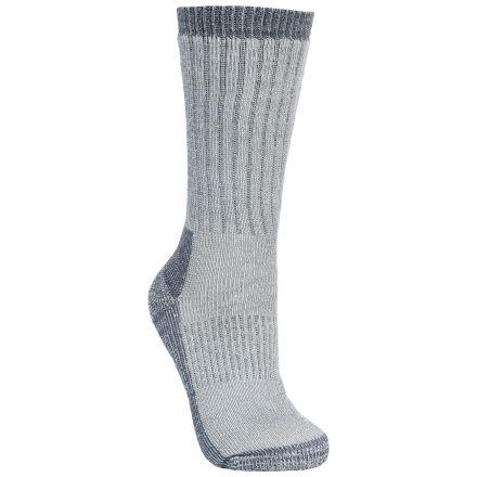 Strolling Men's DLX Walking Socks in Light Grey
