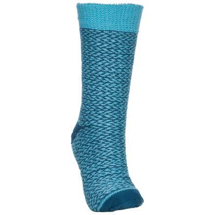 Trespass Unisex Thermal Socks in Blue Thermski