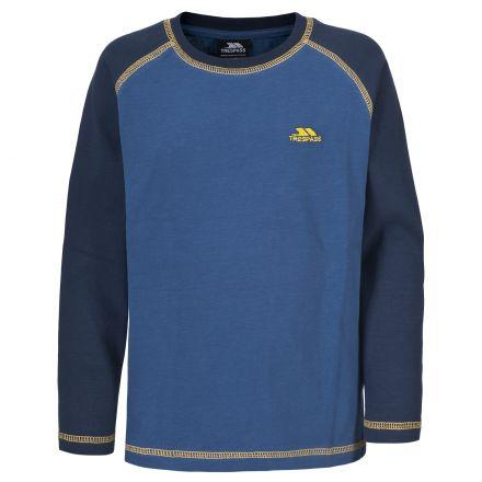 TOBIAS Boys Long Sleeve T-shirt in Blue