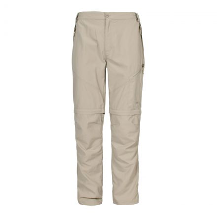 TODEA Mens Convertible trousers in Beige