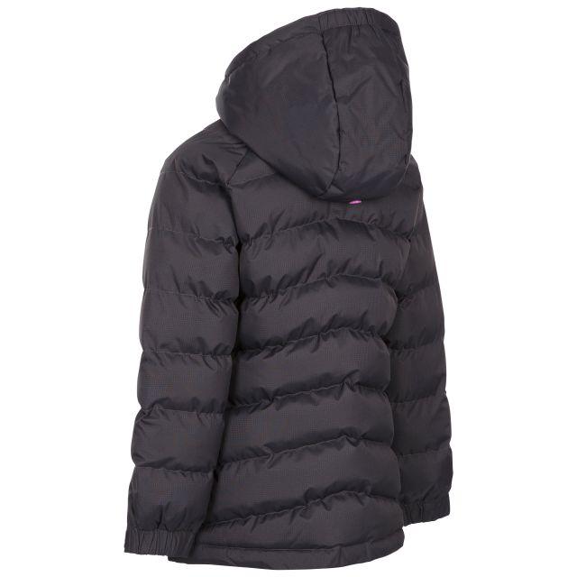 Trespass Kids Padded Waterproof Jacket in Dark Grey Amira