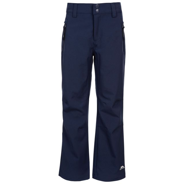 Aspiration Kids' Lightweight Softshell Trousers in Navy