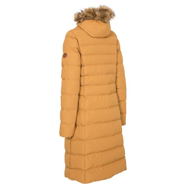 Trespass Womens Padded Jacket Casual Audrey Sandstone