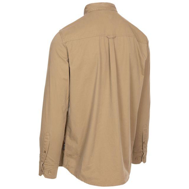 Trespass Men's Button-up Shirt Ballardean Cashew