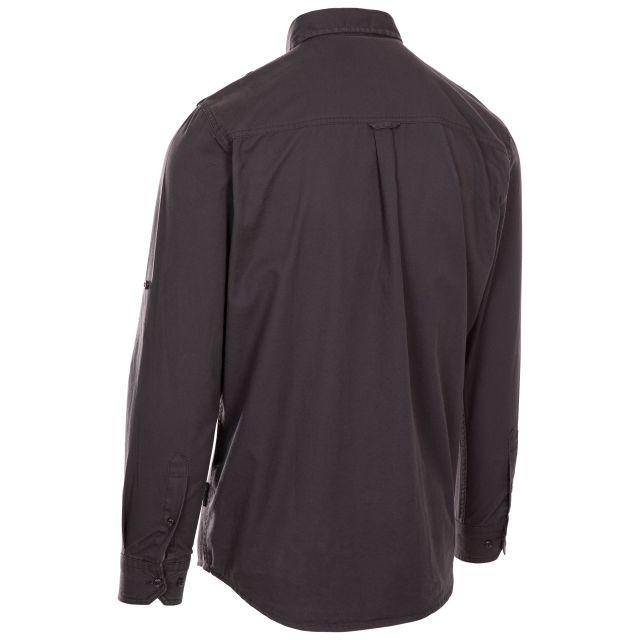 Trespass Men's Button-up Shirt Ballardean Grey