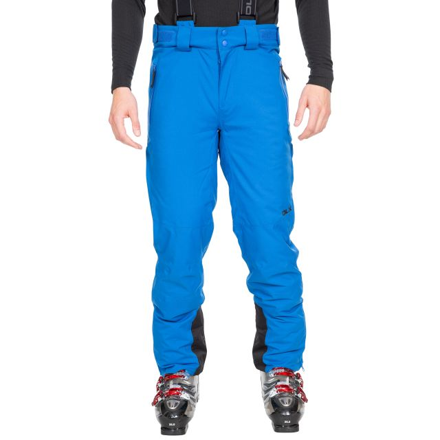 Becker Men's DLX Waterproof Salopettes in Blue