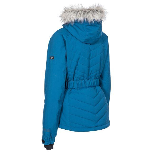 Trespass Womens Ski Jacket Waterproof Windproof Camila Blue