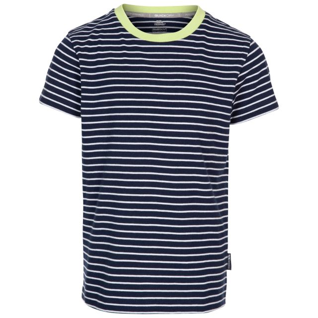 Direction Kids' Quick Dry T-Shirt in Navy