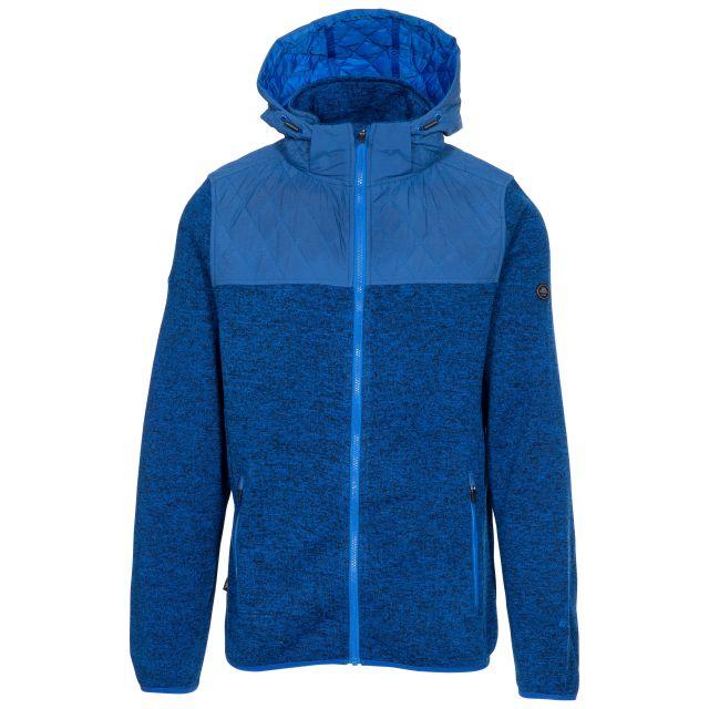 Fairleystead Men's Hooded Fleece Jacket - BM1, Front view on mannequin