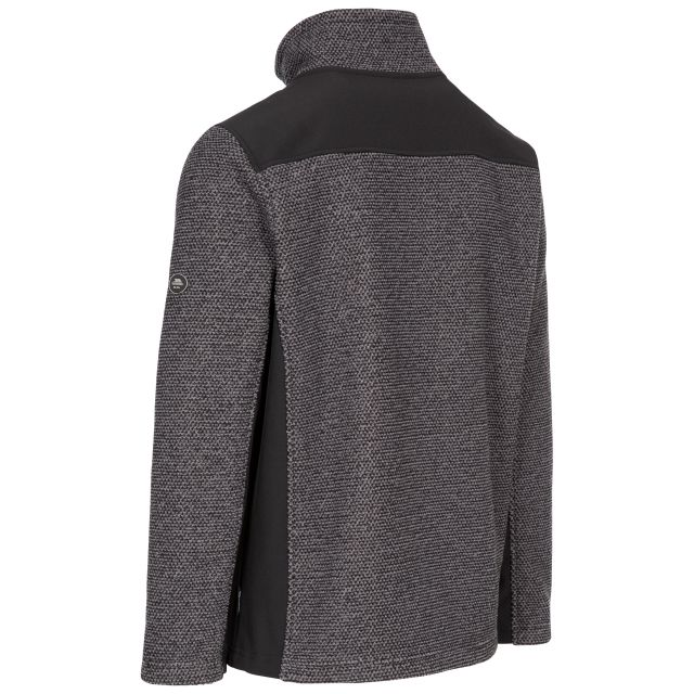 Faratino Men's Knitted Striped Fleece Jacket - DS1