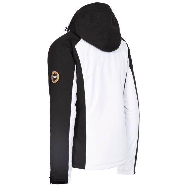 DLX Womens Ski Jacket Waterproof Gwen in White