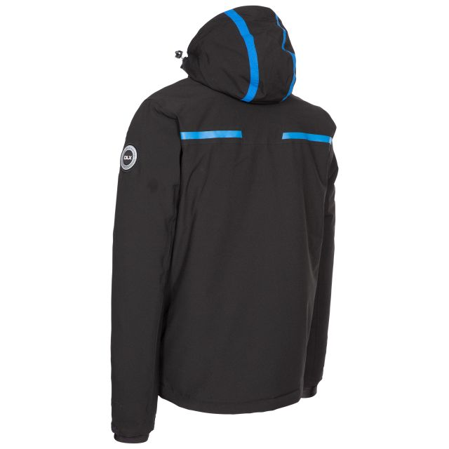 Jared Men's DLX Slim Fit Ski Jacket with RECCO - BLK