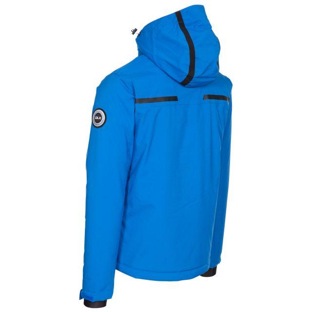 Jared Men's DLX Slim Fit Ski Jacket with RECCO - BLU