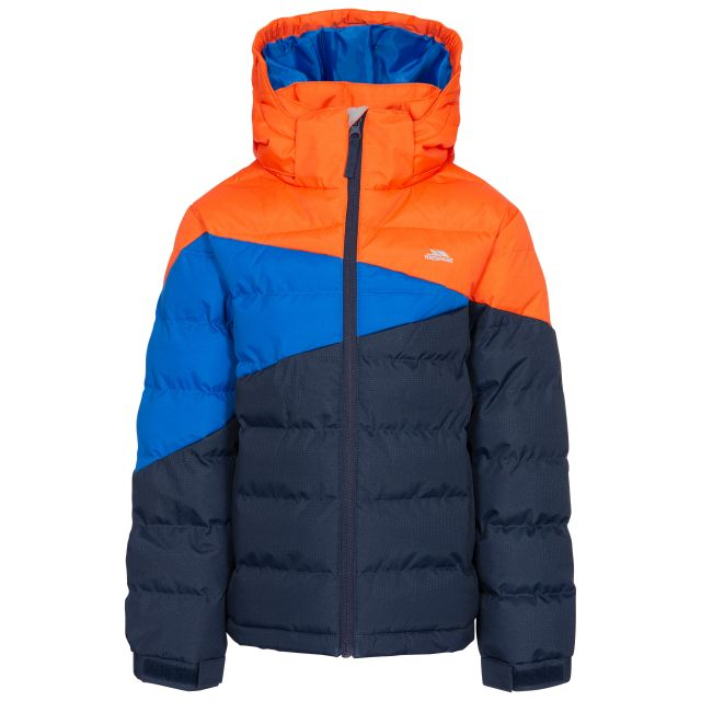 Layout Kid's Padded Jacket - NA1, Front view on mannequin
