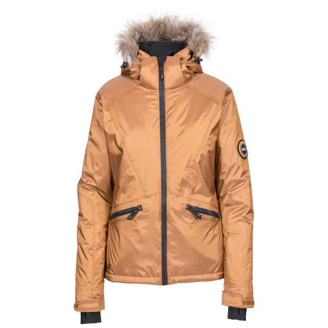 DLX Womens Ski Jacket with Recco Meredith in Bronze