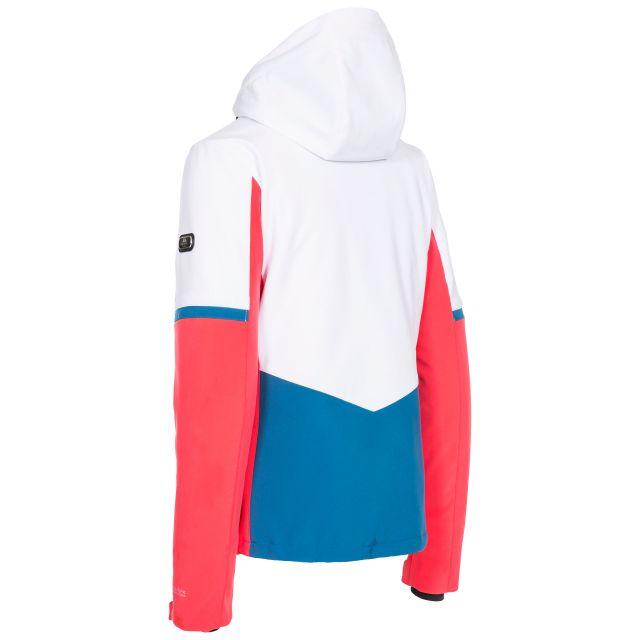 Trespass Womens Ski Jacket Slim Fit Mila in Hibiscus