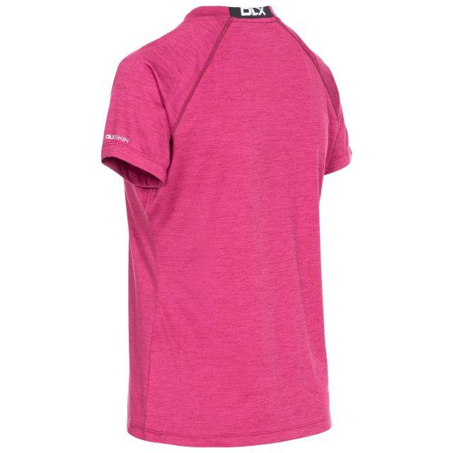 Rhea Women's DLX Eco-Friendly T-Shirt in Berry Marl