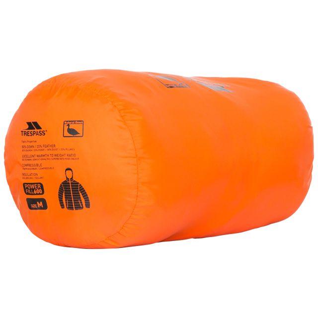 Stanley Men's Ultra Lightweight Packaway Down Jacket in Orange