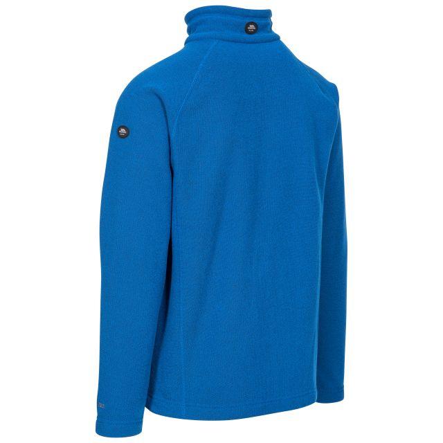 Trespass Adults Fleece Jacket Full Zip 2 Pockets Steadburn Blue