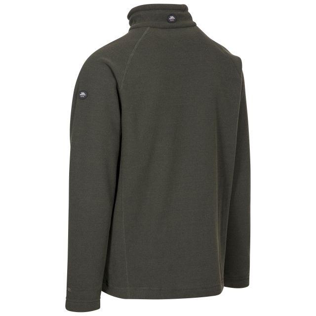 Trespass Adults Fleece Jacket Full Zip 2 Pockets Steadburn Olive