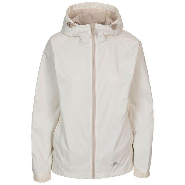 Trespass Women's Waterproof Jacket Tayah II White