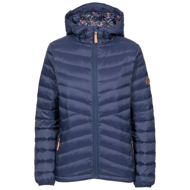 Thora Women's Ultra Lightweight Down Jacket - NA1, Front view on mannequin