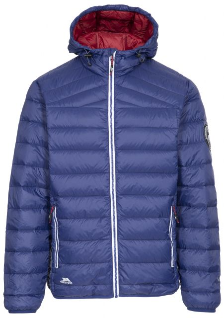 WHITMAN II - MALE DOWN JACKET - BPN, Front view on mannequin