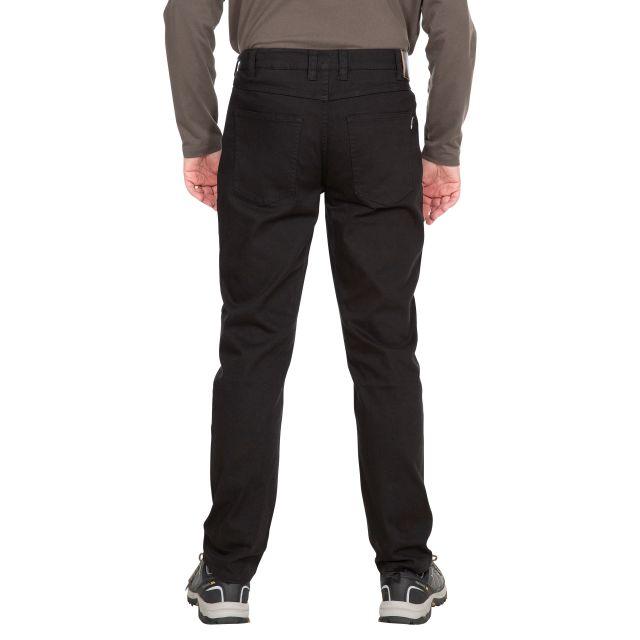 Trespass Mens Walking Trousers with Pockets Yockenwaite Black