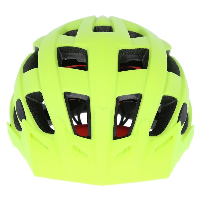 Zprokit Adults Bike Helmet - HVY, Angled view of helmet