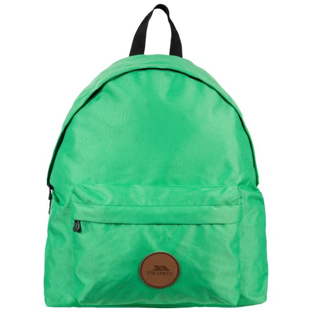 Aabner Green 18L Casual Backpack - GRN, Back view