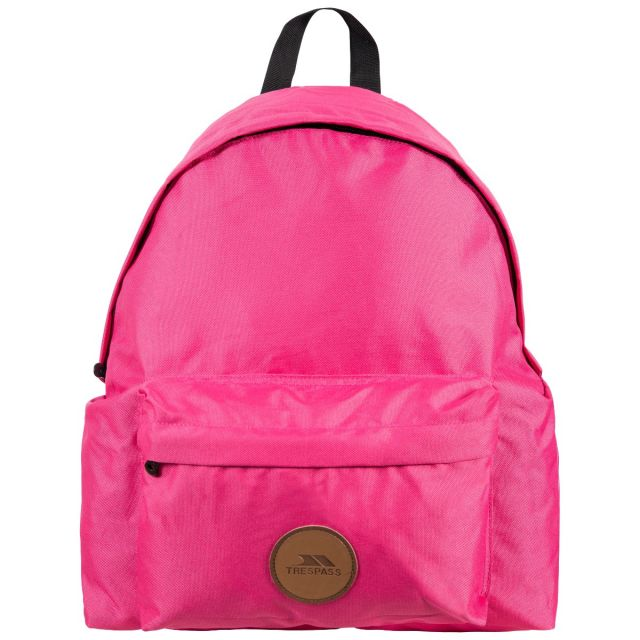 Aabner Pink 18L Casual Backpack - PIN, Back view