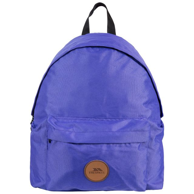 Aabner Purple 18L Casual Backpack - PUR, Back view