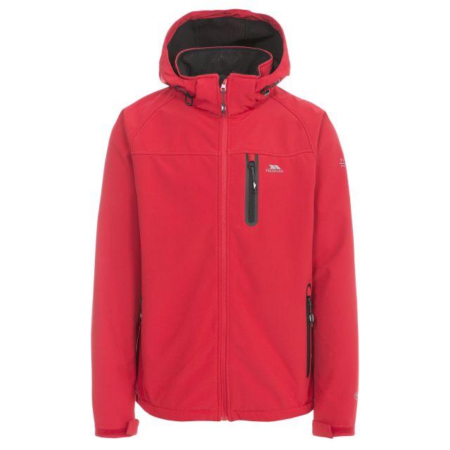 Accelerator II Men's Hooded Softshell Jacket in Red