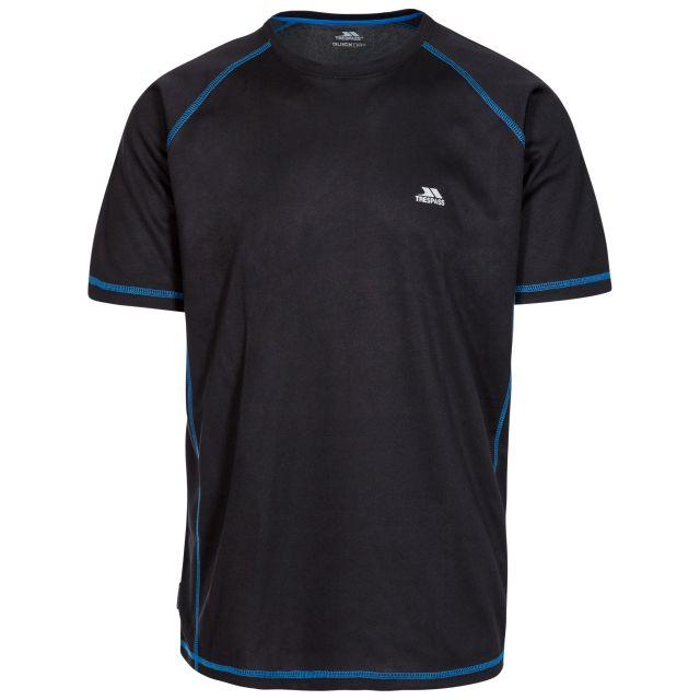 Albert Men's Quick Dry Active T-Shirt in Black